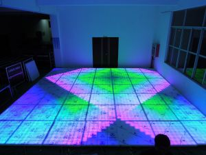 1mx1m Wedding Party LED DJ Digital Dance Floor pictures & photos