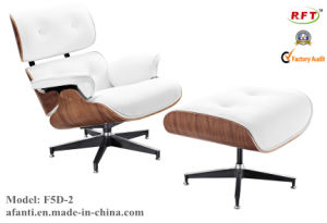 Eames Hotel Leather Wooden Leisure Lounge Recliner Chair (F5D-1) pictures & photos