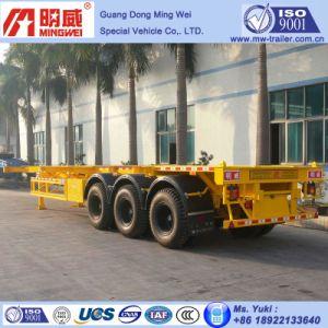3 Axles Framework Container Transport Semi Trailer (NHG9407TJZG-6B)