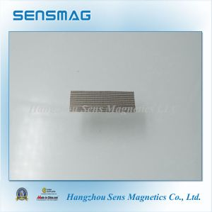 N35~N55 Micro Permanent NdFeB Magnet with Nicuni Coated pictures & photos