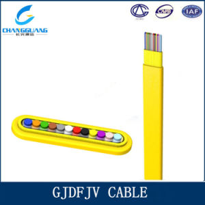 Flat Ribbon Fiber Cable Gjdfjv pictures & photos