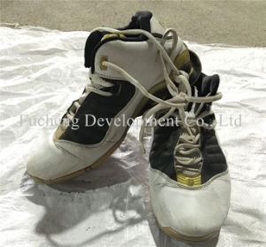 Cheap Man, Lady, Child Used Sandals Second Hand Stock Shoes (FCD-005) pictures & photos