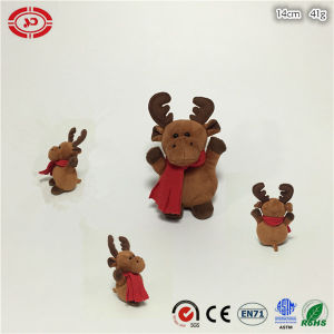 Xmas Brown Happy Kids Gift Soft Plush Moose Soft Toy pictures & photos