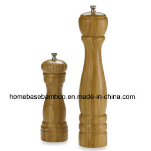 Costco Walmart Bamboo Salt & Pepper Miller Grinder pictures & photos