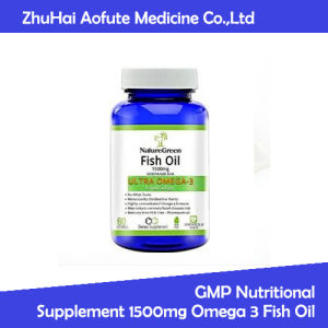 GMP Nutritional Supplement 1500mg Omega 3 Fish Oil pictures & photos