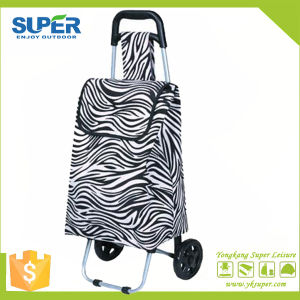 Foldable Shopping Hand Cart Supermarket Shopping Cart (SP-527) pictures & photos