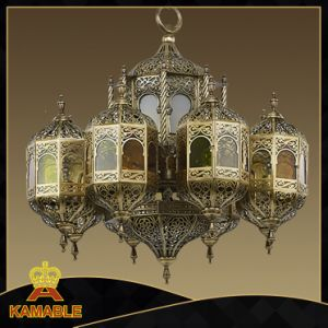 Arabic Style Brass Big Customized Moroccan Chandelier (KA009) pictures & photos