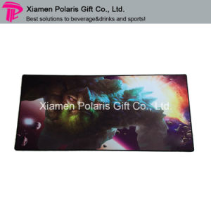 Full Color Logo Printing Fabric Rubber Game Mat Play Mat pictures & photos