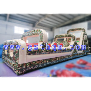 Camping Inflatable Through Obstacles/Land Barrier Inflatable Game pictures & photos