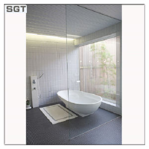 10mm 12mm Safety Low Iron/Ultra Clear Tempered Glass for Shower Room pictures & photos