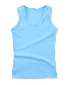 Bamboo Softness Children′s Tank Tops pictures & photos