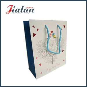 4c Printed Logo Cheap Customize Gift Garments Paper Bags pictures & photos