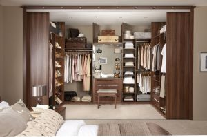 Modular American Standard Living Room Wooden Walk in Closet pictures & photos