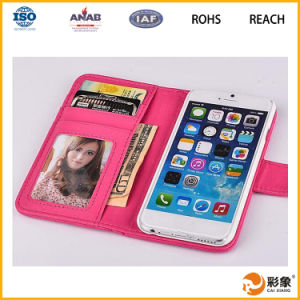 China Wholesale Flip PU Leather Phone Cases for iPhone 6