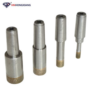Glass Drillingdiamond Drill Bits Cone Shank for Glass Drilling pictures & photos
