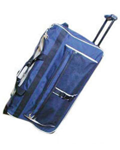 Detachable Adjustable Shoulder Travel Trolley Bag with Base Board Inside