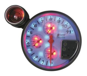 "5""127mm Tachometer for 4 in 1 Gauge (8140SWBL) pictures & photos"