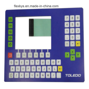 Custom Metal Dome Window Membrane Switch for Electronic Scale