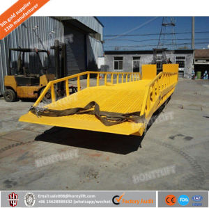2016 New Adjustable Mobile Hydraulic Loading Dock Ramp for Forklift pictures & photos