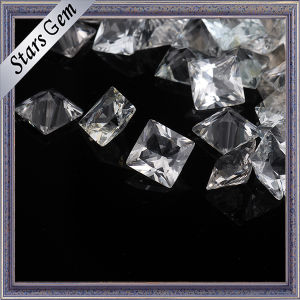 Wholesale Price Princess Cut Natural White Topaz pictures & photos