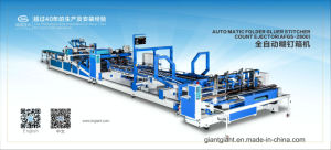 Carton Machine-Flexo Printer Slotter Die Cutter&Folder Gluer Stitcher pictures & photos