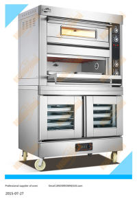 2layer 4tray Electric Oven with Proofer (204DF) pictures & photos