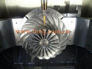 Internal Combustion Engine Turbocharger Compressor Wheel Turbobillet pictures & photos