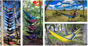 Double Hammock Camping Survival Hammock