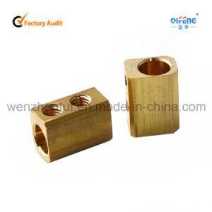 Brass Fittings Electric Terminal Block Being Good in Conductivity pictures & photos