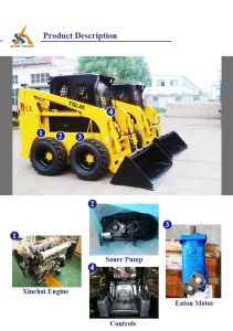 Chinese Top Skid Steer Loader pictures & photos