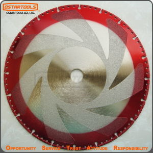 Vacuum Diamond Saw Blade for Hard Granite and Stone pictures & photos