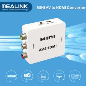 RCA AV Cvbs to HDMI Converter with 3D, 1080P pictures & photos