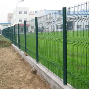 PVC Coated Steel Wire Mesh Farm Fence pictures & photos