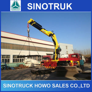 Sinotruk HOWO Machinery  Mounted Crane Truck for Sale pictures & photos