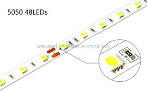 UL Certificate 48LEDs 5050 12V LED Strip pictures & photos