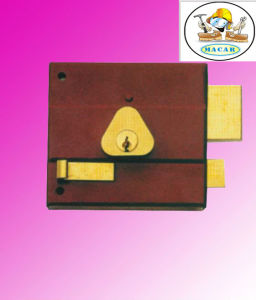 High Quality Brass Latch Rim Lock for Sale pictures & photos