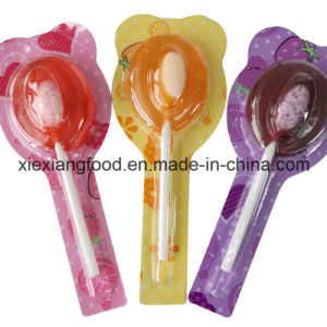 Lollipop with Sour Candy pictures & photos
