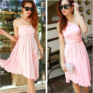 New Style Cheap Casual Women Summer Beach Party Dress Wholesale pictures & photos