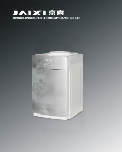 Hot and Cold Table Glass Water Dispenser with Compressor Cooling