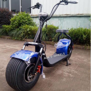 800W 48V Fat Tire Electric Scooter with Shock Absorber (MES-015) pictures & photos