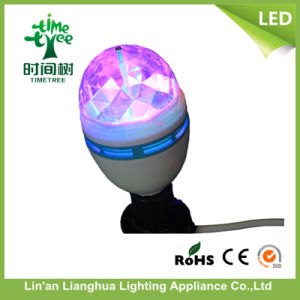 Full Color Rotating 360 Degree Mini LED Light, Stage Light pictures & photos