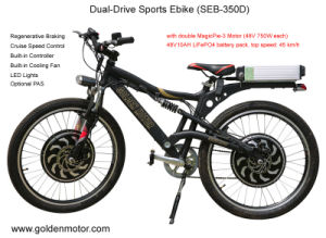 CE 26′′ 48V 2000W Power Motor Mountain Electric Bike pictures & photos