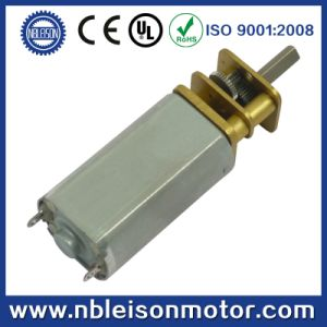 13mm 6V 12V Brush Micro DC Metal Gear Motor for Door Lock pictures & photos