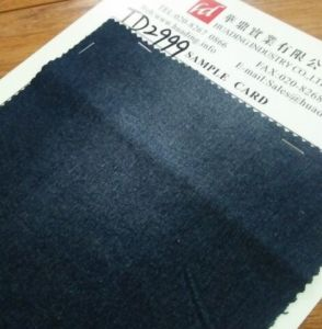 Dark Blue Twill Denim Fabric (TD2999) pictures & photos