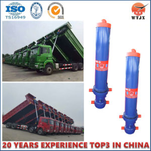 High Quality Front End Telescopic Hydraulic Cylinder for Trailer/Truck pictures & photos