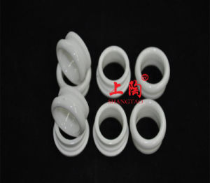 Glazed Al2O3 Alumina Ceramic Twin Guides pictures & photos
