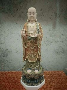 Fiberglass Outdoor Buddha Statue for Decoration pictures & photos