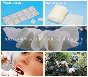 Stop Bleeding Fast Hemostatic Military Gauze for First Aid pictures & photos