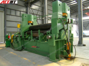 Adjustable Upper Roller 3 Roller Plate Curving Coiling Rolling Bending Machine pictures & photos