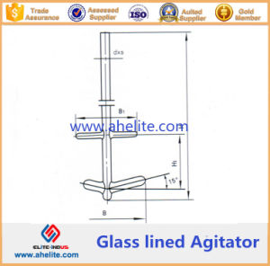 Combination Type Glass Lined Agitator pictures & photos